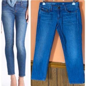 Matchstick Crop Jeans